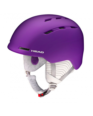HEAD Valery Purple Helmet
