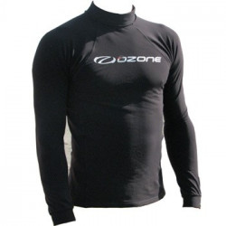 Ozone Thermal Rash Vest L/S Black