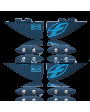 F-One 2017 UNIBOX Twin tip fins