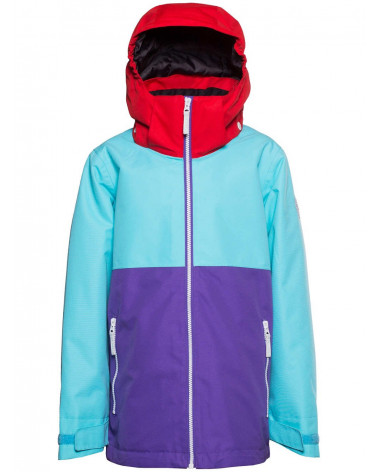 Colour Wear Slice Jacket Radiant Blue