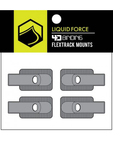 Liquid Force 2017 4D FLEXTRACK MOUNT X4