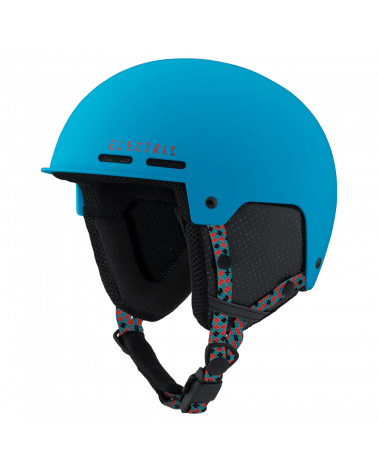 Electric Saint Matte Blue Red Helmet