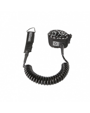 Mystic Coiled Leash 8' Black