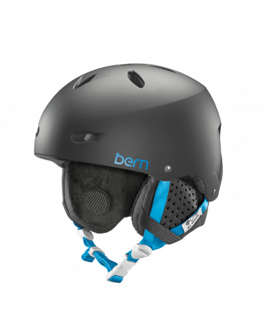Bern Brighton Satin Black Helmet