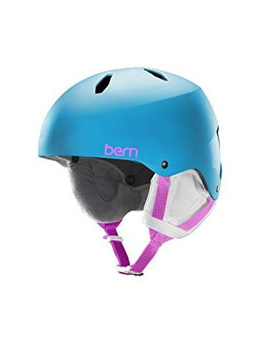 Šalmas Bern Team Diabla Translucent Light Blue Helmet
