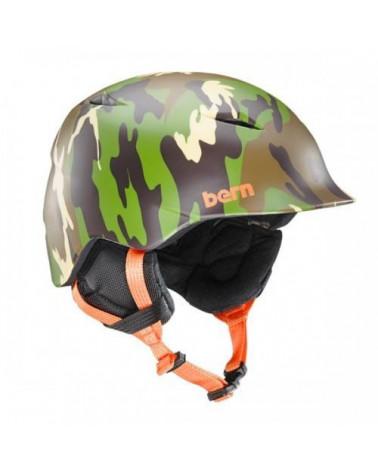 Šalmas Bern Camino Matte Fatigue Camo Helmet