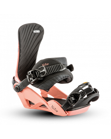 Nitro 2019 Ivy Flamingo Bindings