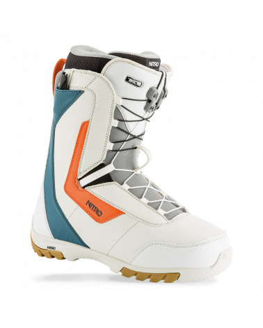 Batai Nitro 2019 Sentinel TLS White Blue Orange