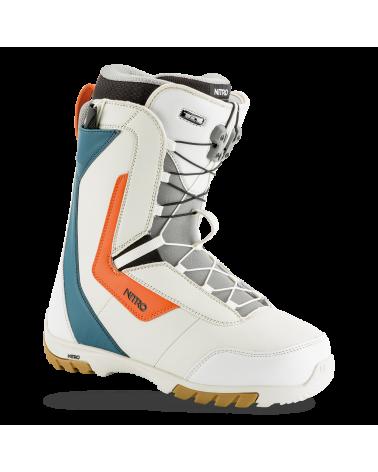 Nitro 2019 Sentinel TLS White Blue Orange Boots