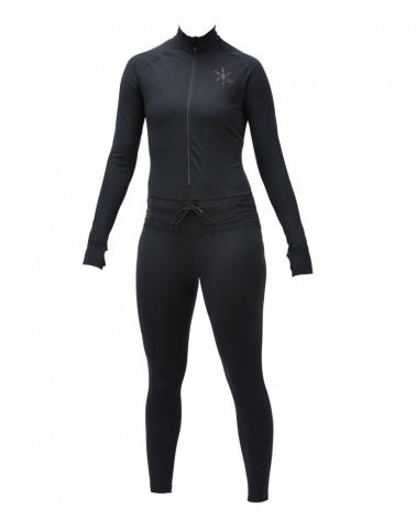Termokostiumas Airblaster 2019 Wms Hoodless Ninja Suit Black