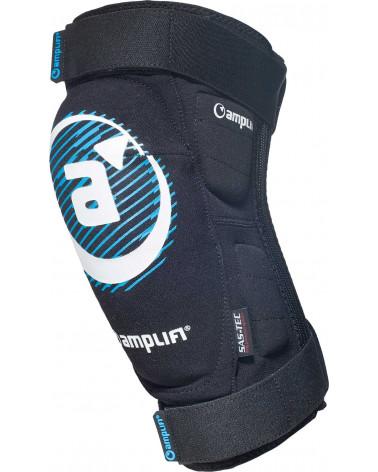 Apsauginiai šortai Amplifi 2019 Salvo Polymer Knee Zip Black