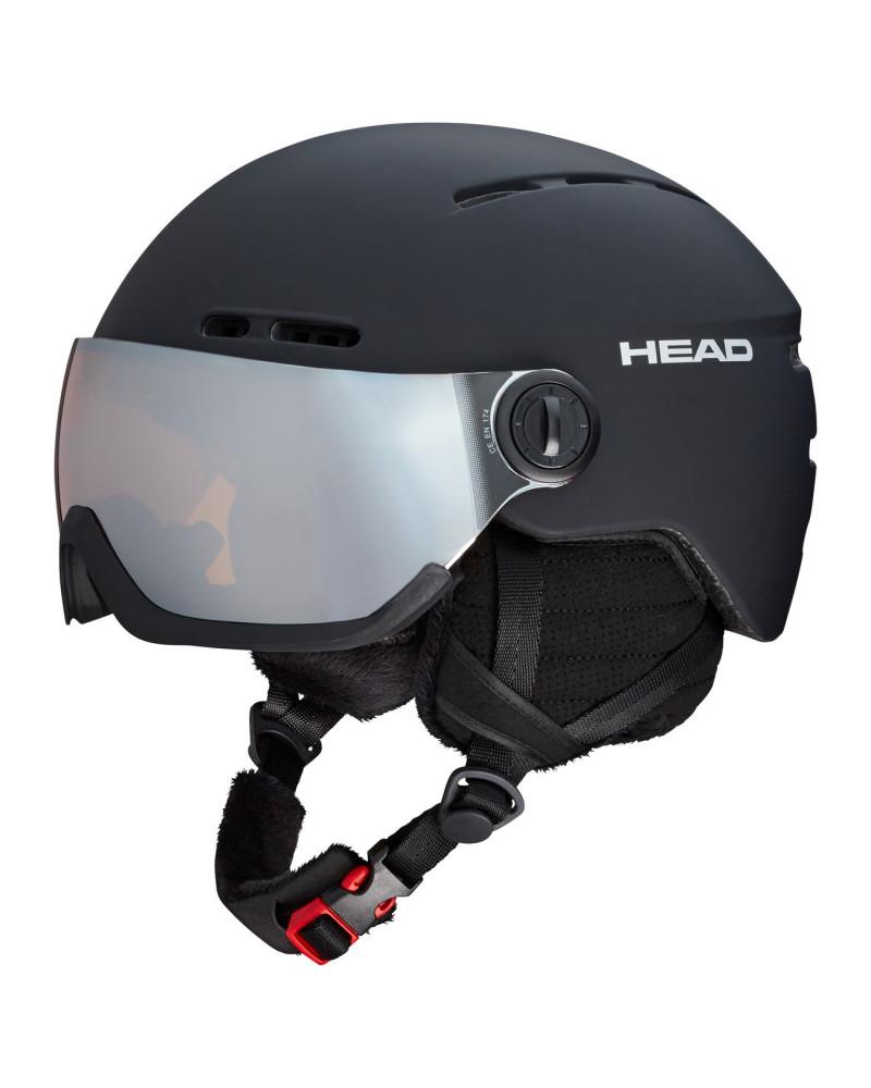 HEAD 2019 KNIGHT BLACK HELMET