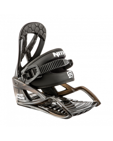 Apkaustai NITRO 2019 MICRO CHARGER Black Bindings
