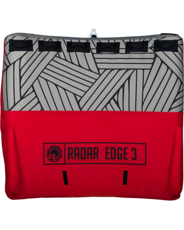 Atrakcionas Radar 2019 Edge 3 Person Tube Red