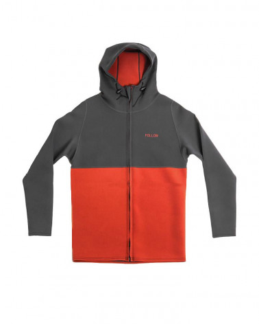 Jacket Follow 2019 LAYER 3.1 2 NEO ZIPTHRU JACKET Charcoal/Rust