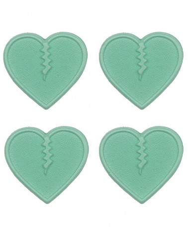 Crab Grab 2020 Mini Hearts Aqua