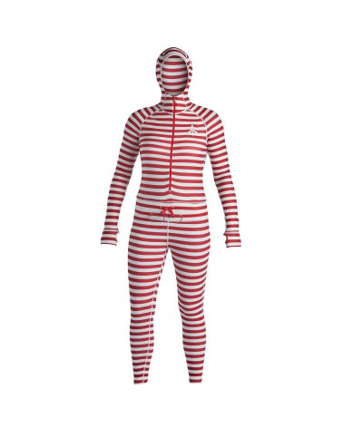 Airblaster 2020 Wms Classic Ninja Suit-Dark Red Stripe