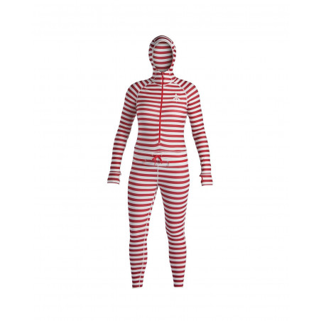Airblaster 2020 Wms Classic Ninja Suit-Dark Red Stripe