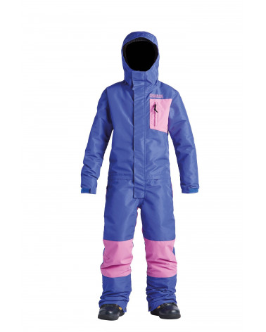 Slidinėjimo kostiumas Airblaster 2020 Youth Freedom Suit-Purple Bubblegum