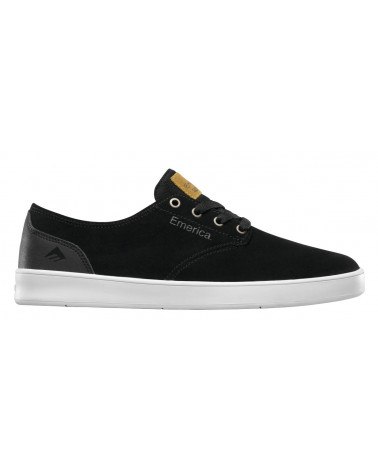 EMERICA THE ROMERO LACED BLACK/BLACK/WHITE Shoes