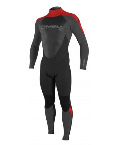 ONEILL Epic 3/2 Back Zip Full Black/Red