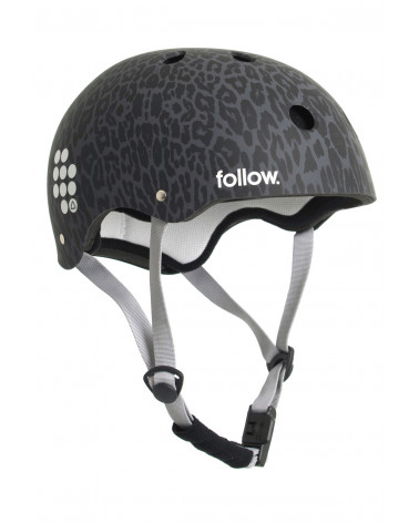 Šalmas Follow 2020 PRO GRAPHIC HELMET Leopard