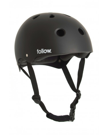 Šalmas Follow 2020 Safety First Helmet Black