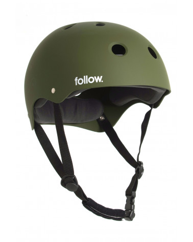 Šalmas Follow 2020 Safety First Helmet Olive