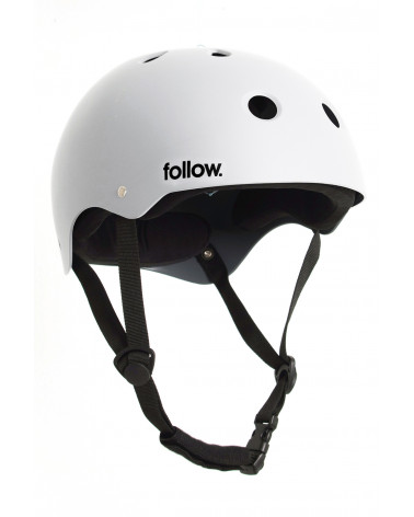 Šalmas Follow 2020 Safety First Helmet White