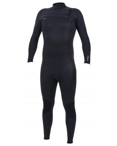 ONEILL 2020 Hyperfreak 4/3 Plus Chest Zip Full Black
